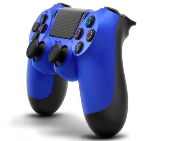 Blue DualShock 4
