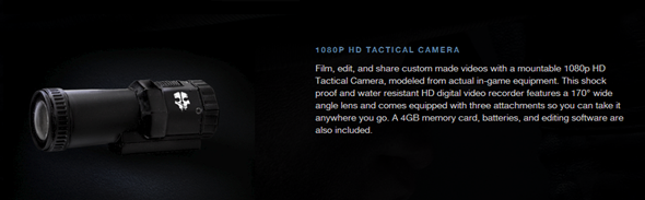 Ghosts tactical camera