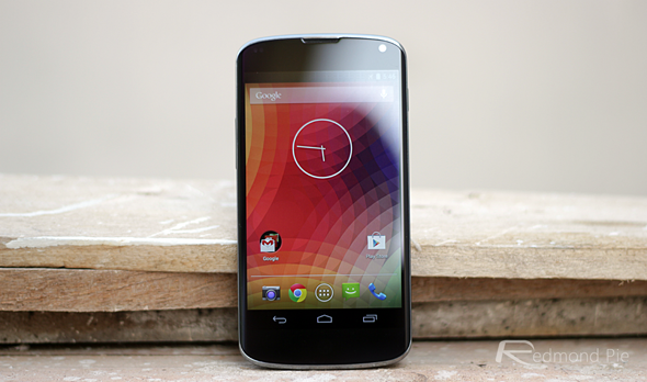 Nexus 4 display