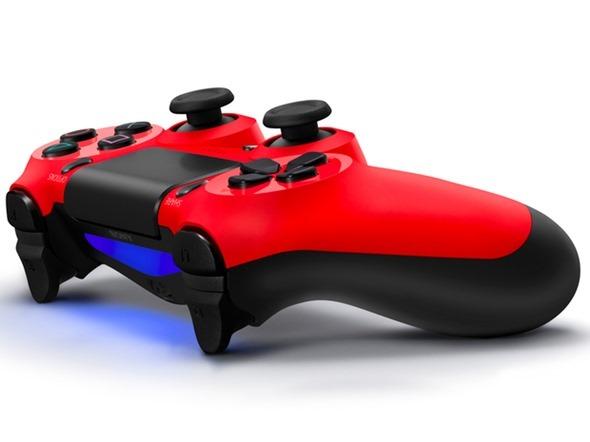 Red DualShock 4