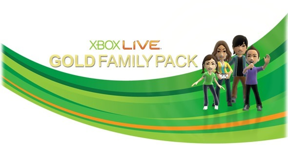 Xbox LIVE famiy pack 2