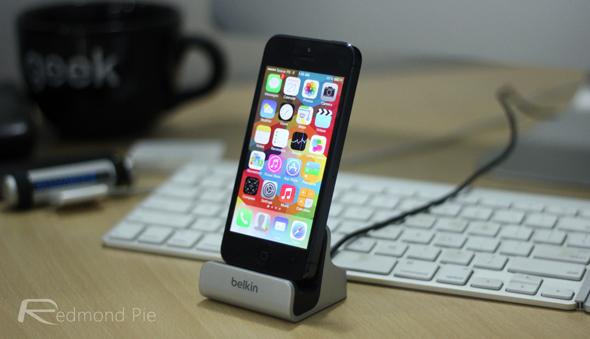iOS 7 belkin dock