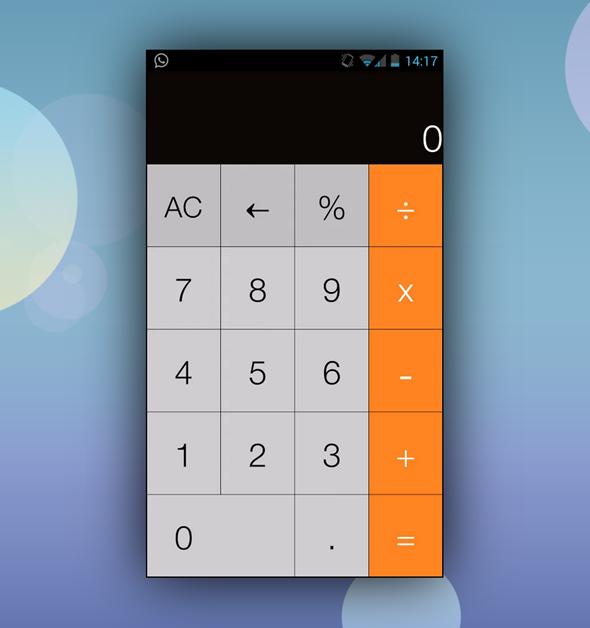 iOS 7 calci 2 image