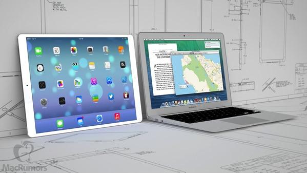 iPad 12.9 MacBook Air