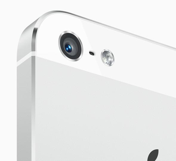 iPhone 5 camera lens