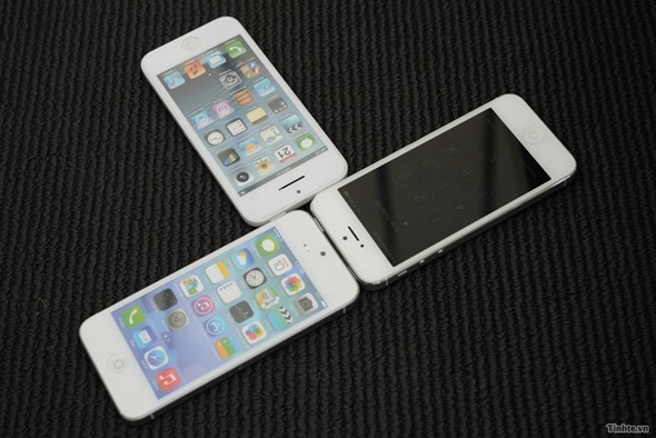 Side-By-Side Look At iPhone 5S And iPhone 5C In Full
