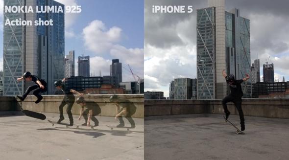 lumia 925 iPhone 5 ad