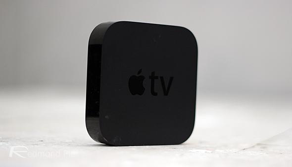Apple TV view