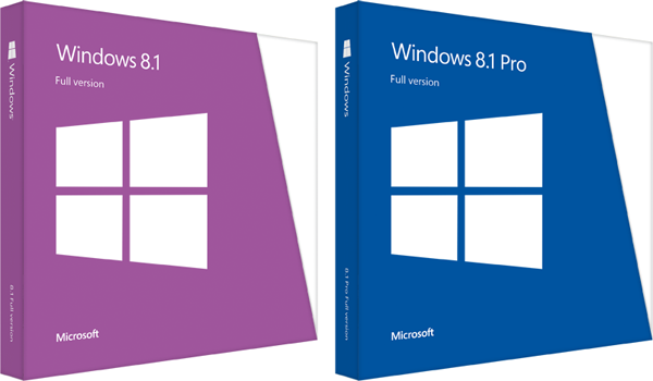 Windows 8.1 box