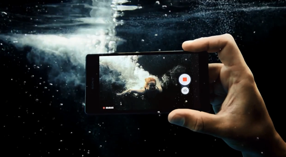 Xperia Z waterproof