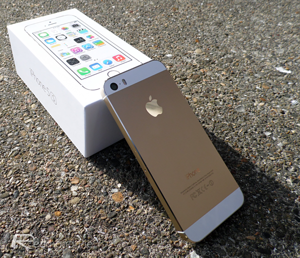 gold iPhone 5s 2
