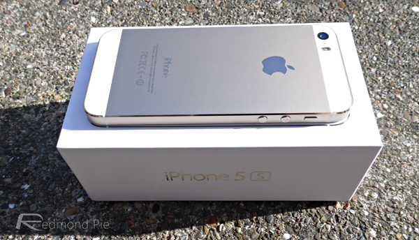 gold iPhone 5s 5