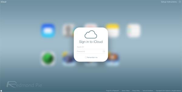 iCloud final iOS 7