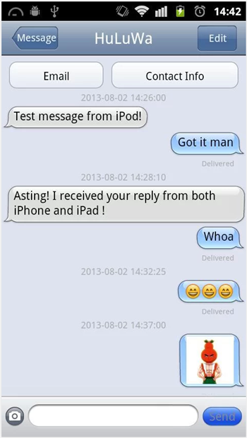 iMessage Android 2