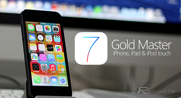 iOS 7 Gold Master header