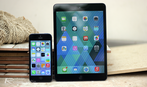 iOS 7 final iphone and ipad mini