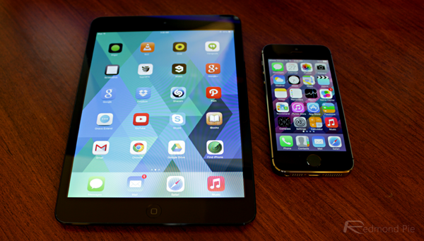 iOS 7 iPad mini iPhone 5s