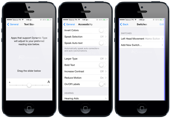how to turn off voice over control on iphone 5s