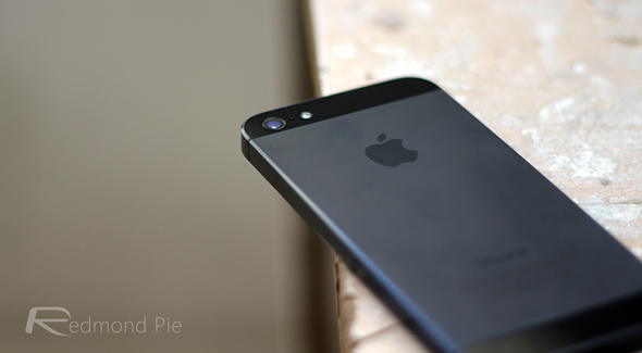iPhone 5 black and slate