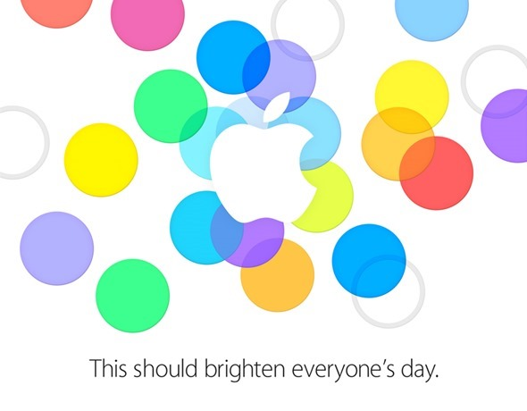 iPhone 5S 5C event invite