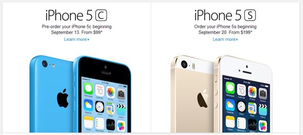 iPhone 5c 5s pro order