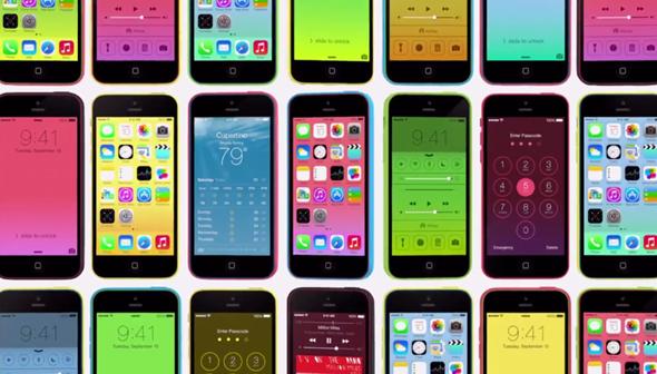 iPhone 5c ad