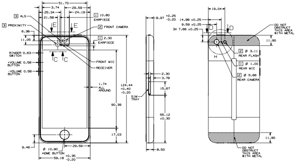 official iphone 5s    5c schematic drawings now available