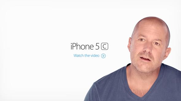 iPhone 5c video splash
