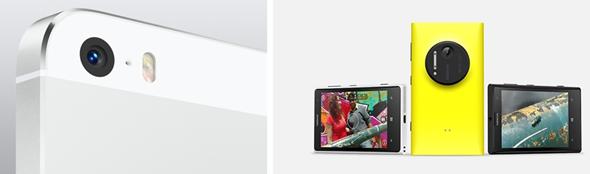 iPhone 5s vs Lumia 1020