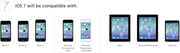 ios 7 compatibility