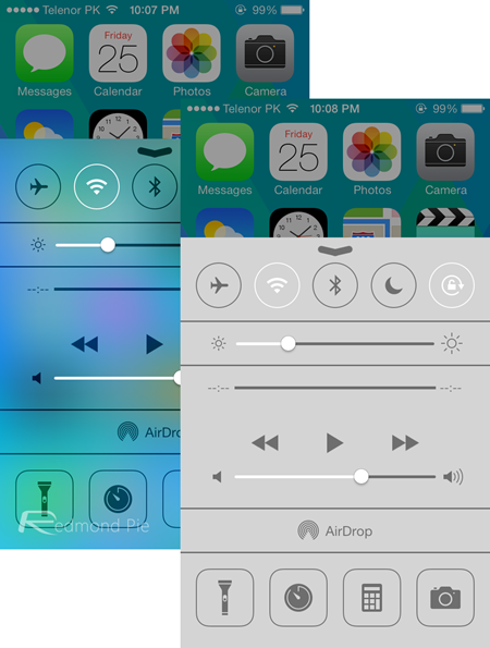 How To Turn Off iOS 7 Blur Effects