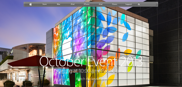 Apple October iPad event keynote