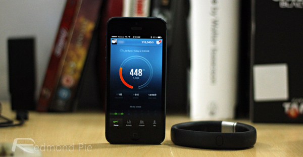 FuelBand iPhone
