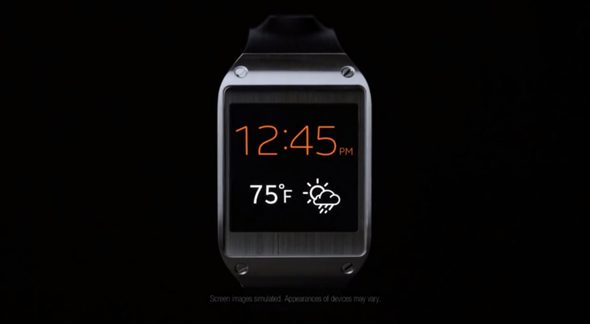 Galaxy Gear face