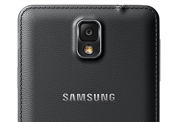 Galaxy Note 3 leather back