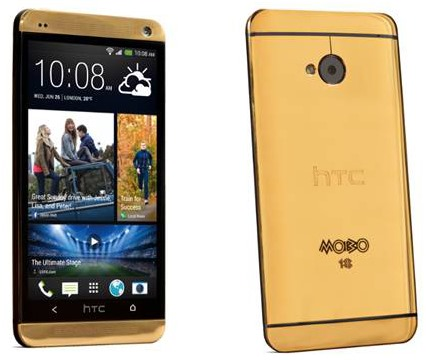 Gold HTC One 1