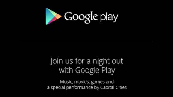 Google Play invite