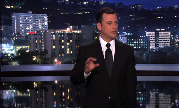 Jimmy Kimmel iOS 7 motion sickness