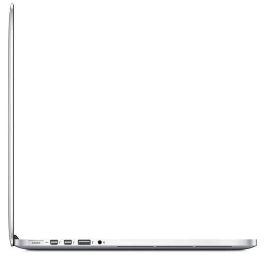 MacBook Pro 15 side