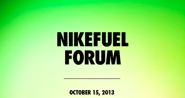 NikeFuel forum invite