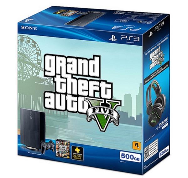 PS3 GTA5 bundle