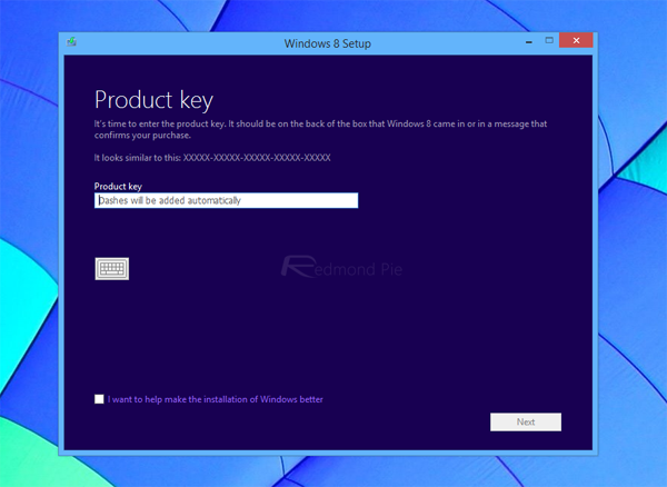 How To Download Windows 8.1 ISO File Using Your Windows 8 Product Key | Redmond Pie