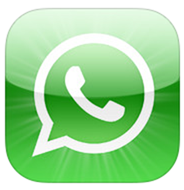 WhatsApp logo ios