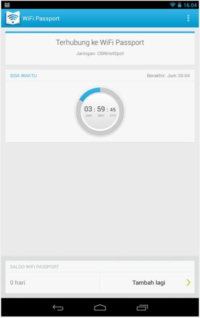 Wifi passport screenshot 2