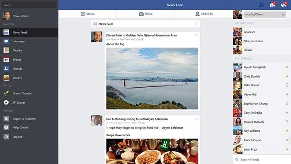 Windows 8 Facebook App (1)