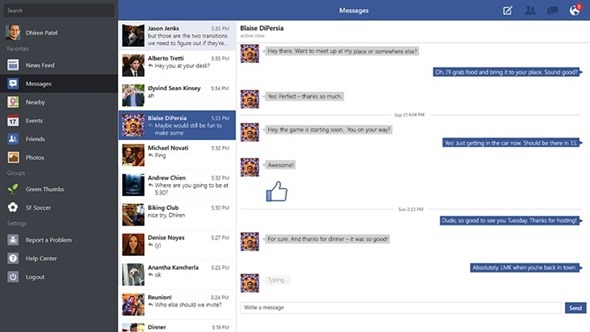 Windows 8 Facebook App (2)