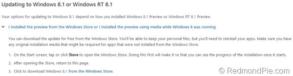 Windows 8.1 Windows RT 8.1
