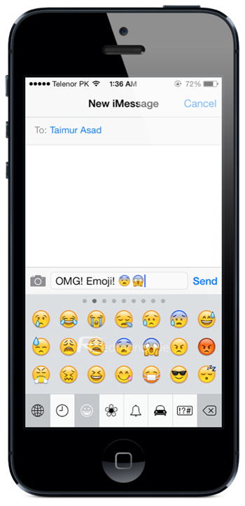 how to enable emojis on iphone how to enable emoji keyboard in ios 7 redmond pie 18776