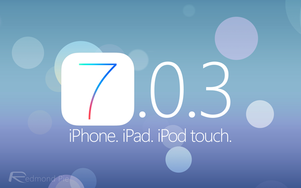 iOS703 iPhone iPad iPod touch