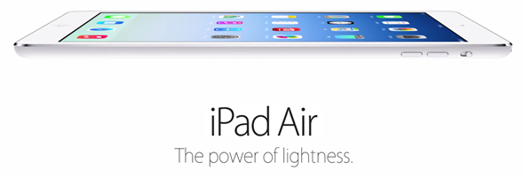 iPad Air header